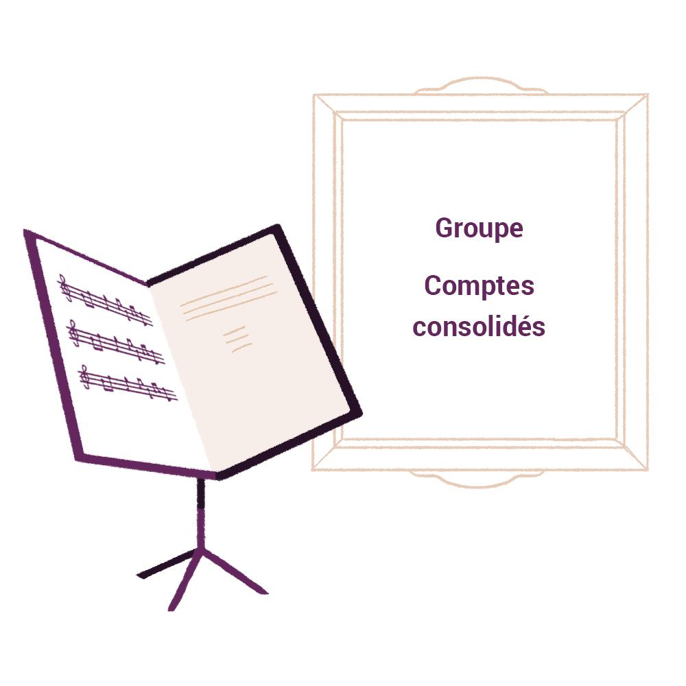 Groupe comptes consolidés